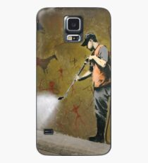 Cave Painting Removal, Banksy Case/Skin for Samsung Galaxy