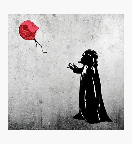 Little Vader Photographic Print