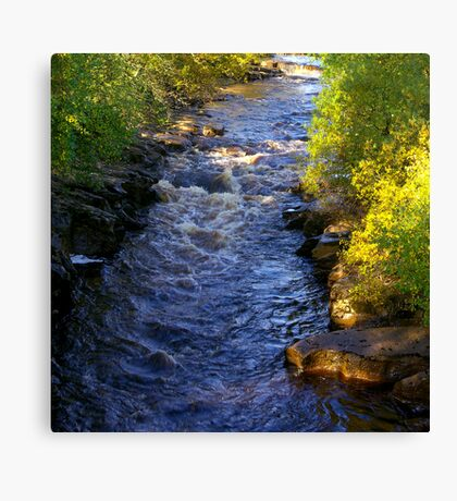 River Swale at Keld - Yorkshire Dales Canvas Print