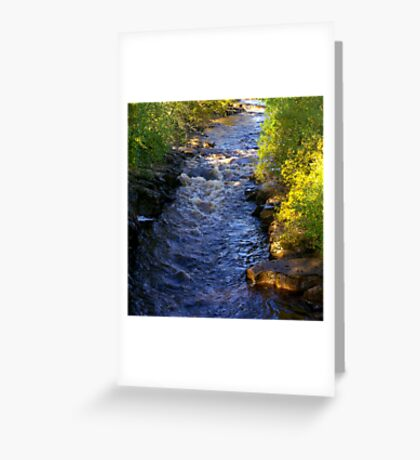 River Swale at Keld - Yorkshire Dales Greeting Card