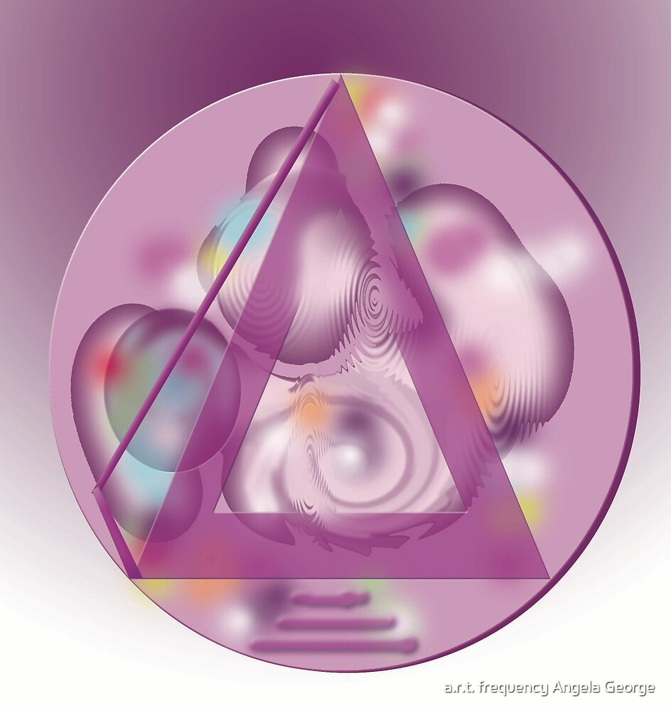 Crystaline Pyramid by a.r.t. frequency Angela George