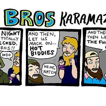 The Bros Karamazov by reparrish