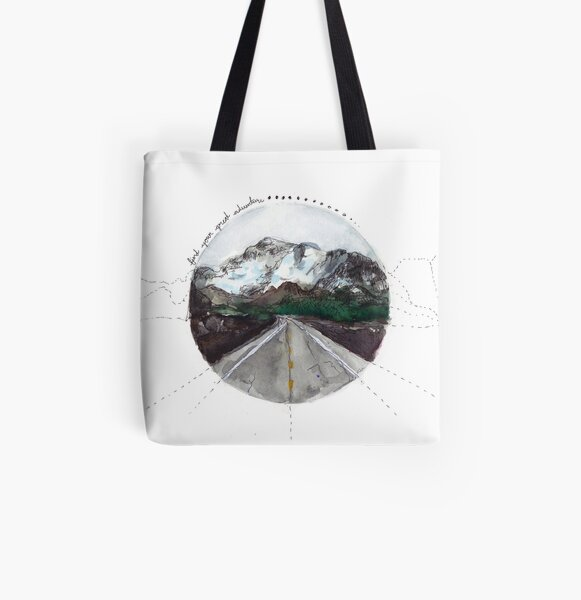 find your great adventure All Over Print Tote Bag