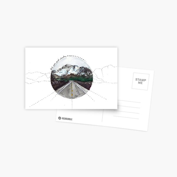 find your great adventure Postcard