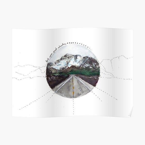 Finde dein großes Abenteuer Poster