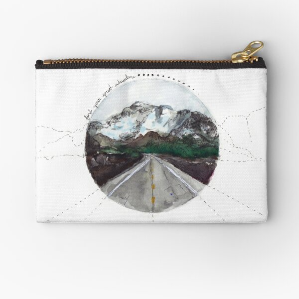 find your great adventure Zipper Pouch
