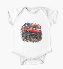 Mud Truck USA Bogger Run One Piece - Short Sleeve