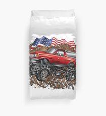 Mud Truck USA Bogger Run Duvet Cover