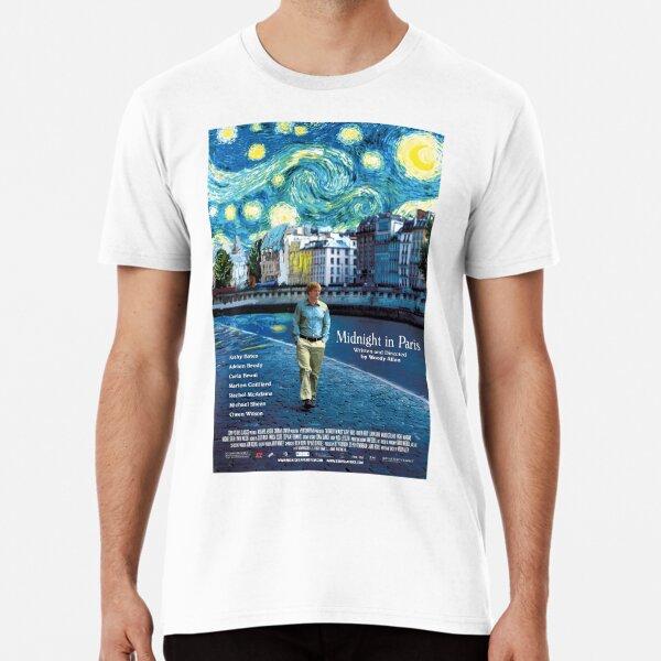 Midnight in Paris Camiseta premium