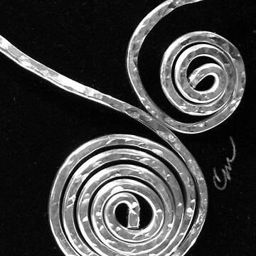 Swirls Locked by Camillemeola