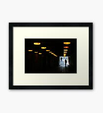 Way Out East Framed Print