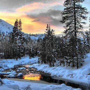 Winter Evening by lenzart
