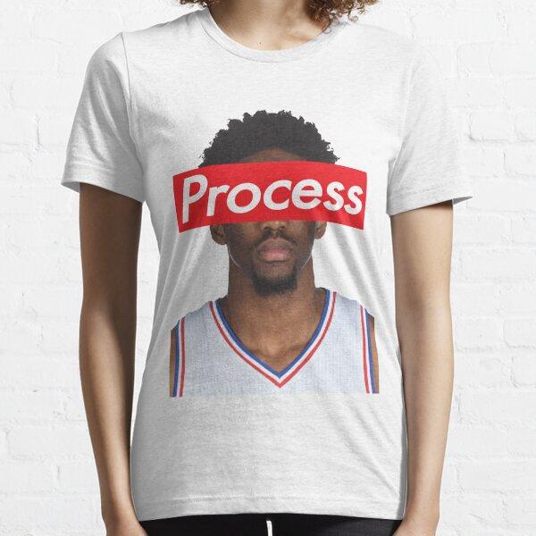 Joel Embiid Philadelphia 76ers Sixers Process Essential T-Shirt