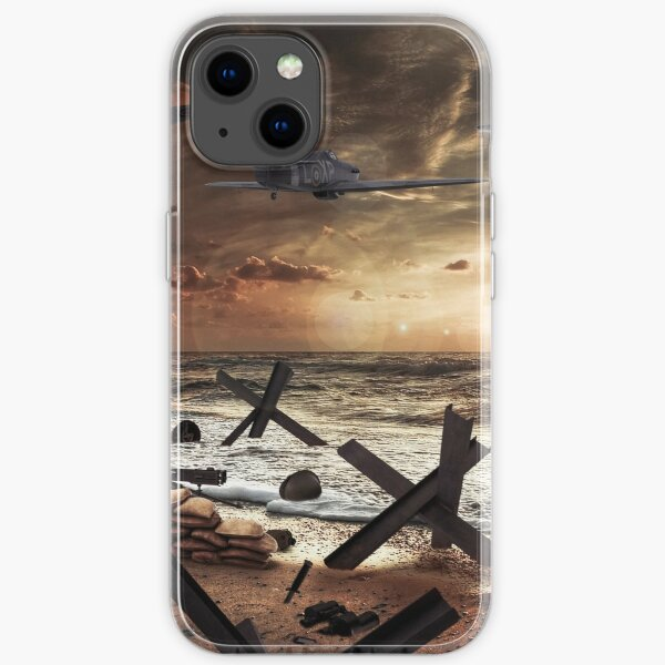 Normandy Sunset iPhone Soft Case