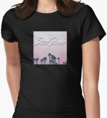 Scott Damn - Come and Get It Trees Women's Fitted T-Shirt