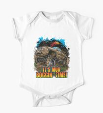 Mud Truck It's Mud Boggin' Time One Piece - Short Sleeve