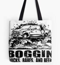 Mud Truck Boggin Babes and Beers Tote Bag