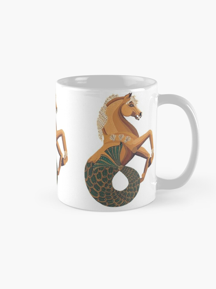 Alternate view of Carousel Series: Seahorse Mug