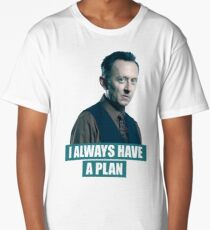 I always have a plan (Benjamin Linus) - LOST Long T-Shirt