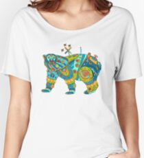 Polar Bear, cool art from the AlphaPod Collection Women's Relaxed Fit T-Shirt