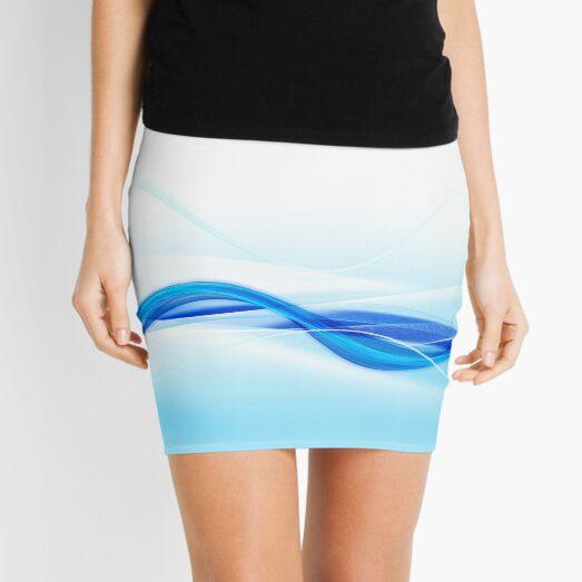 Water Flow Mini Skirt
