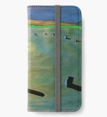 Merry Maidens Stone Circle, Cornwall. iPhone Wallet/Case/Skin