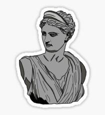 Pegatina Busto de Artemisa