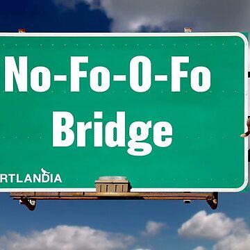 Portlandia No-Fo-O-Fo Bridge by ShayMcG