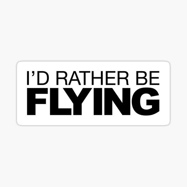 Je préfère voler Sticker