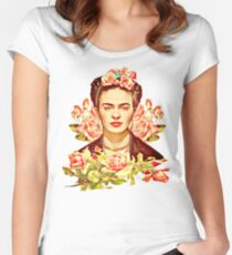 Kahlo Women's Fitted Scoop T-Shirt