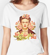 Kahlo Women's Relaxed Fit T-Shirt