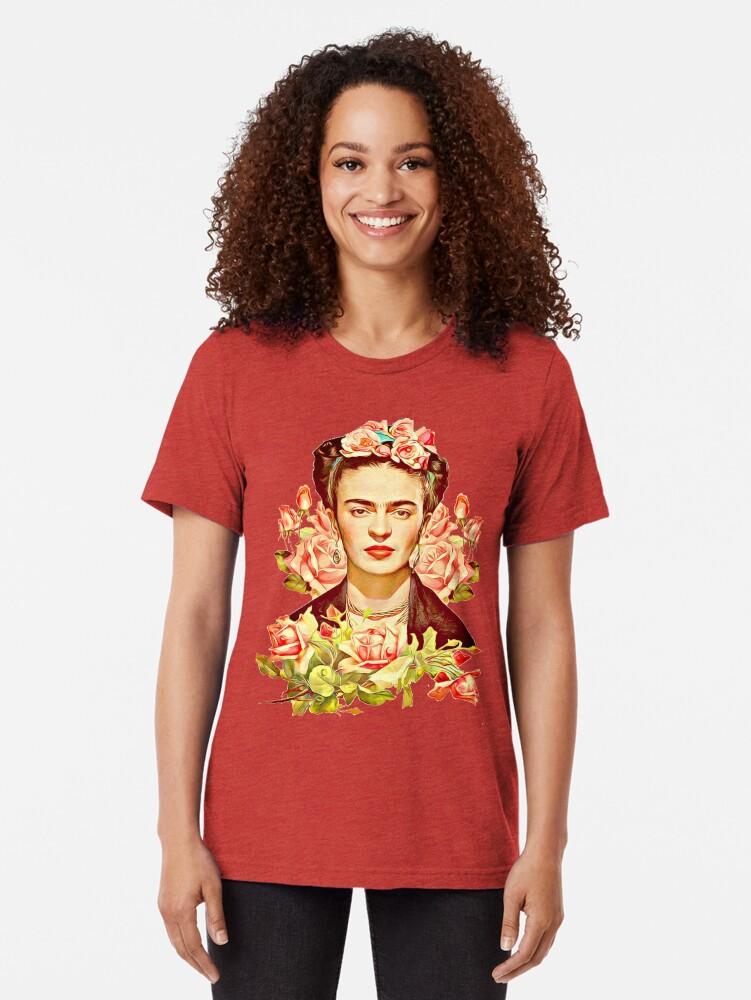 Alternative Ansicht von Kahlo Vintage T-Shirt
