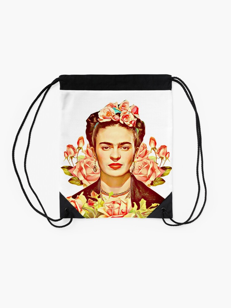 Alternative Ansicht von Kahlo Turnbeutel
