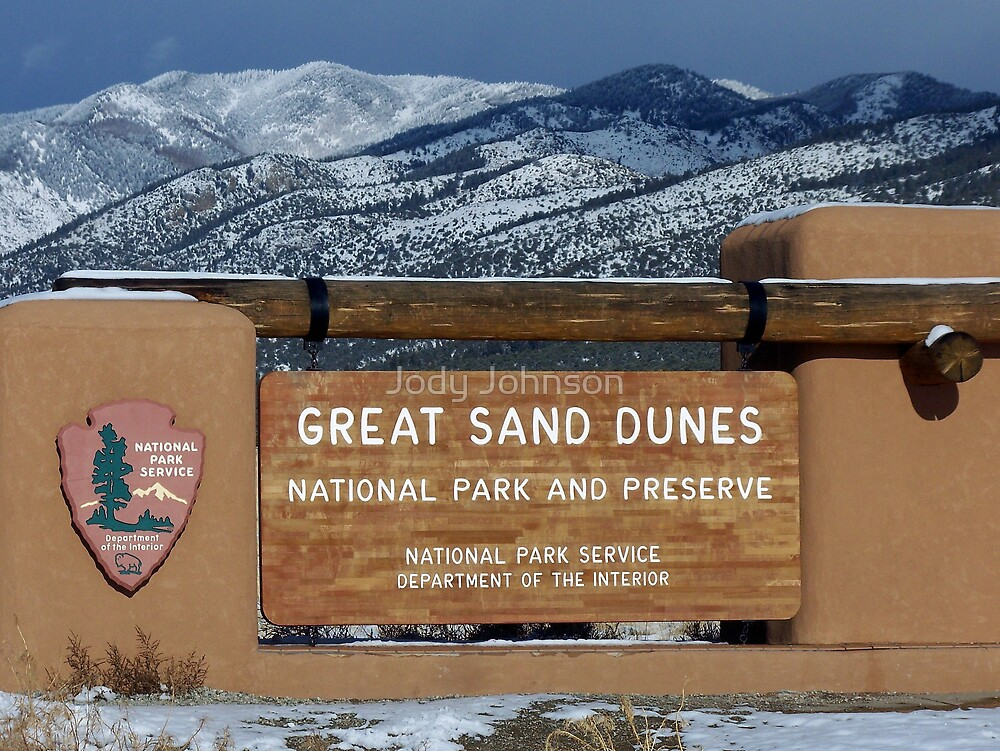 Great Sand Dunes National Park by Jody Johnson