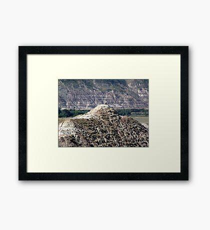 On Top, Looking Down Framed Print
