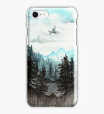 Surveying the slopes  iPhone Case/Skin
