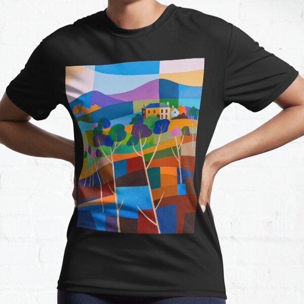 RICHMOND VIEW II, TASMANIA Active T-Shirt