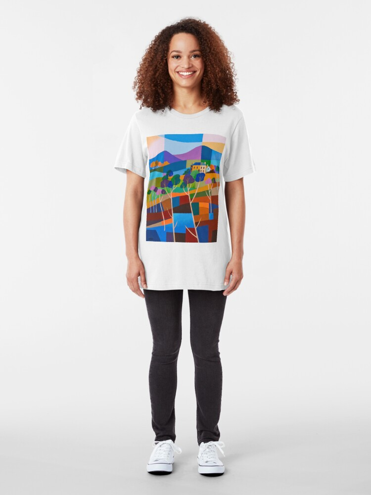 Alternate view of RICHMOND VIEW II, TASMANIA Slim Fit T-Shirt