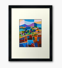 RICHMOND VIEW II, TASMANIA Framed Print