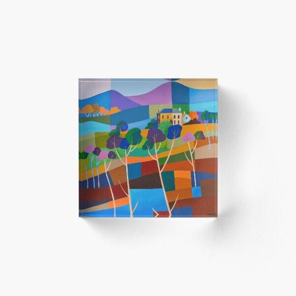 RICHMOND VIEW II, TASMANIA Acrylic Block