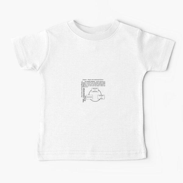 Physics Prints,  General Physics PHY 110 Baby T-Shirt