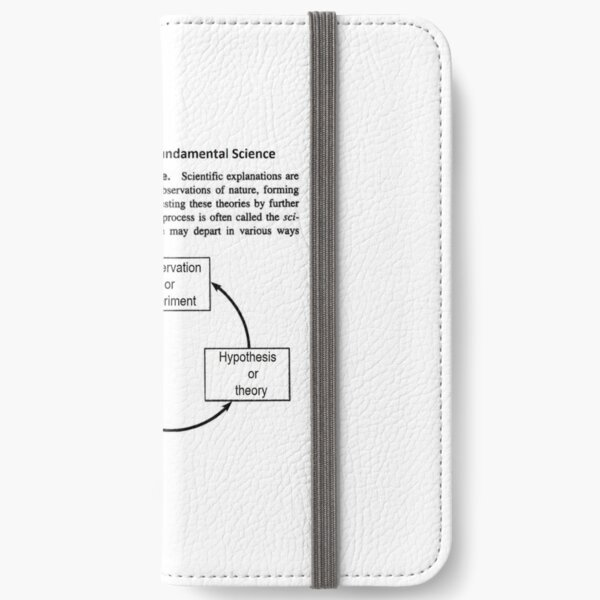 General Physics PHY 110 iPhone Wallet