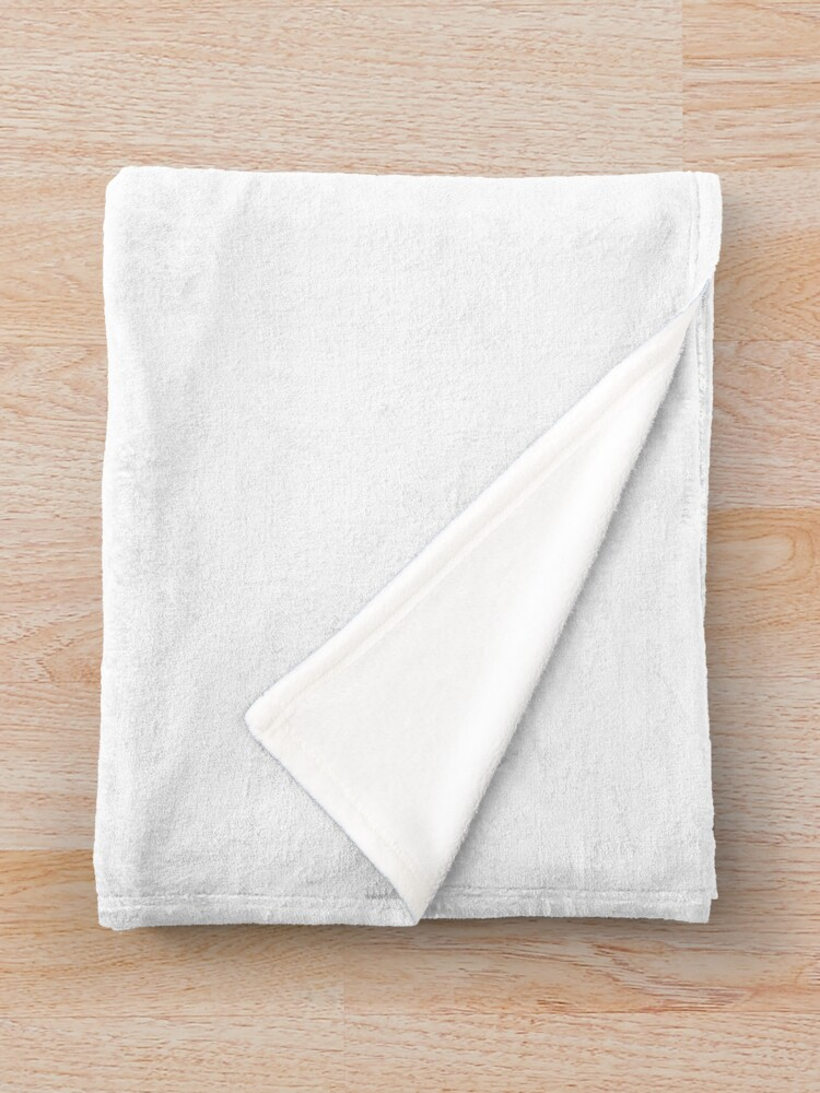 Alternate view of General Physics PHY 110 Throw Blanket