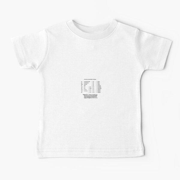 Physics Prints,  General Physics, PHY 110 Baby T-Shirt
