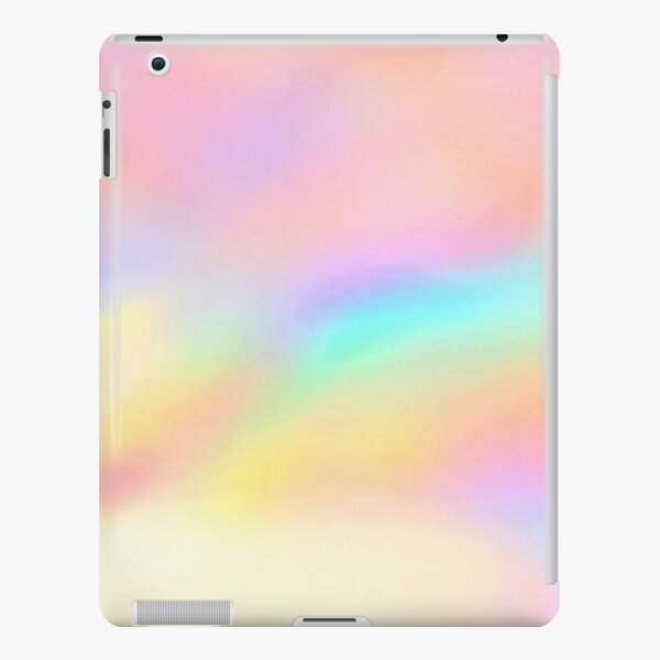 Iridescent Aesthetic Color iPad Snap Case
