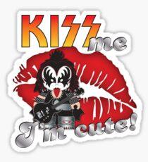 Kiss me... I´m cute! (band) Demon Sticker