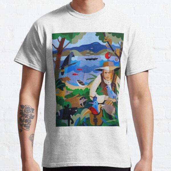 CHARLES DARWIN IN HOBART 1836 Classic T-Shirt
