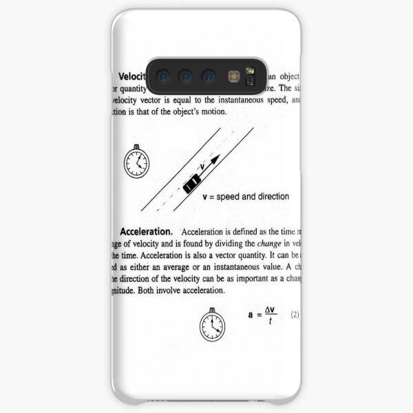 Physics Prints,  General Physics, PHY 110 Samsung Galaxy Snap Case