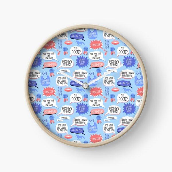 Bro's Better, Bro's Best Clock
