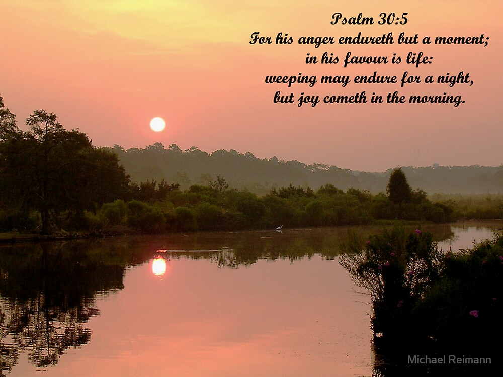 Psalm 30:5 by Michael Reimann